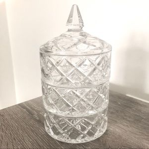 NEW Marquis by WATERFORD Crystal 3-in-1 Canister